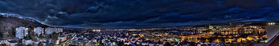 Koblenz hdr Panorama