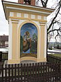 Kobylnice (okres Mladá Boleslav), kaplička, malba II.jpg