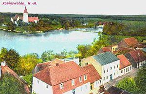 Lubniewice - Königswalde/Neumark about 1900