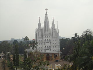 St. Peter and St. Pauls Church, Kolenchery building in India