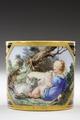 Kopp med fat. Sorgental. Detalj motivet - Hallwylska museet - 87135.tif