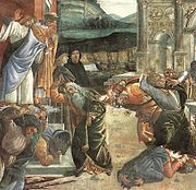Detail of The Punishment of Korah.