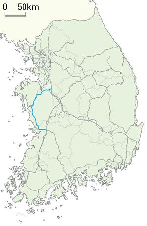 Janghang Line - Image: Korail Janghang Line