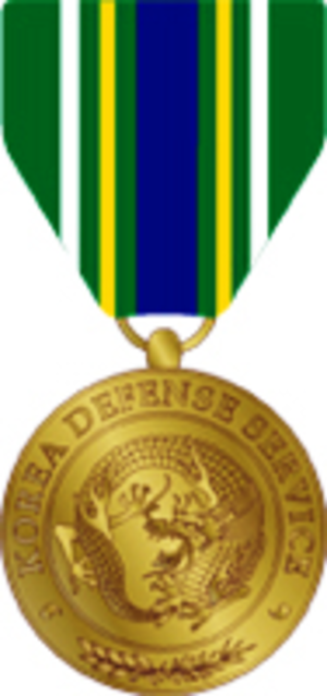 Korea Defense Service Medal - Korea Defense Service Medal