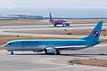 Korean Air ,KE732 ,Boeing 737-9B5 ,HL7705 ,Departed to Busan ,Kansai Airport (16662499915).jpg