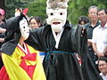 Korean mask dance-Talchum performed at Deoksugung in 2008-01.jpg