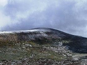 Vue du sommet du mont Kosciuszko.