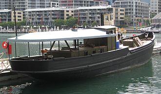 MV Krait - Image: Krait rear shot 2008