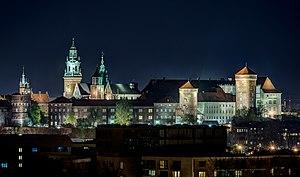 Cracovia - Wawel - nocny pejzaz 01.jpg