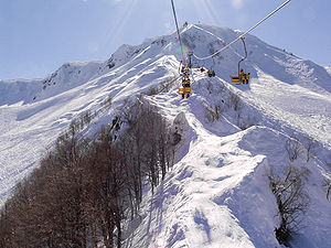 Ski resort of Krasnaya Polyana