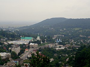 Podolian Upland - Kremenets Hills around the city of Kremenets