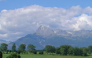 Východná - Mt. Kriváň from Východná
