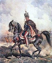 Juliusz Kossak: Portret księcia Józefa na koniu (obraz Juliusza Kossaka)