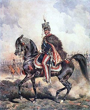 Duchy of Warsaw - Prince Józef Poniatowski Commander in Chief of forces of Duchy of Warsaw, by Juliusz Kossak