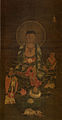 Ksitigarbha Triad (private collection in Korea).jpg