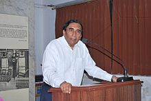 Desai at Gujarati Sahitya Parishad in 2014