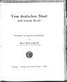 Kurt Wolzendorff Vom deutschen Staat.pdf