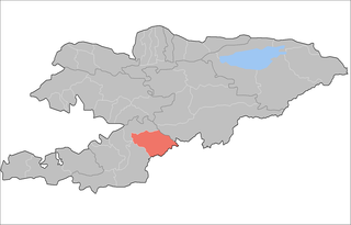 Kara-Kulja District Raion in Osh Region, Kyrgyzstan