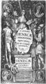 L. Annaei Senecae philosophi Opera omnia, 1628, frontispiece.png