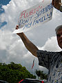 LGBT Activists in Doral Protest U.S. Sen. Marco Rubio After Gay Couples Left Out of Immigration Plan 2 (8794701251).jpg