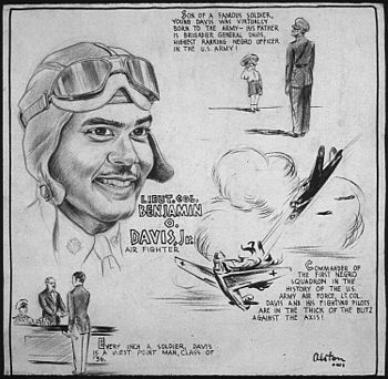 LIEUT. COL. BENJAMIN O. DAVIS, JR. - AIR FIGHT...