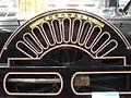 LNWR 2-2-2 3020 'Cornwall' (1847) nameplate & splasher, Locomotion Shildon 29.06.2009 P6290038 (9989612883).jpg