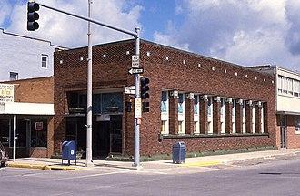 Algona, Iowa - Henry Adams Building