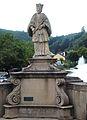La statue de St Népomucène à Vianden Grand-Duché de Luxembourg.JPG