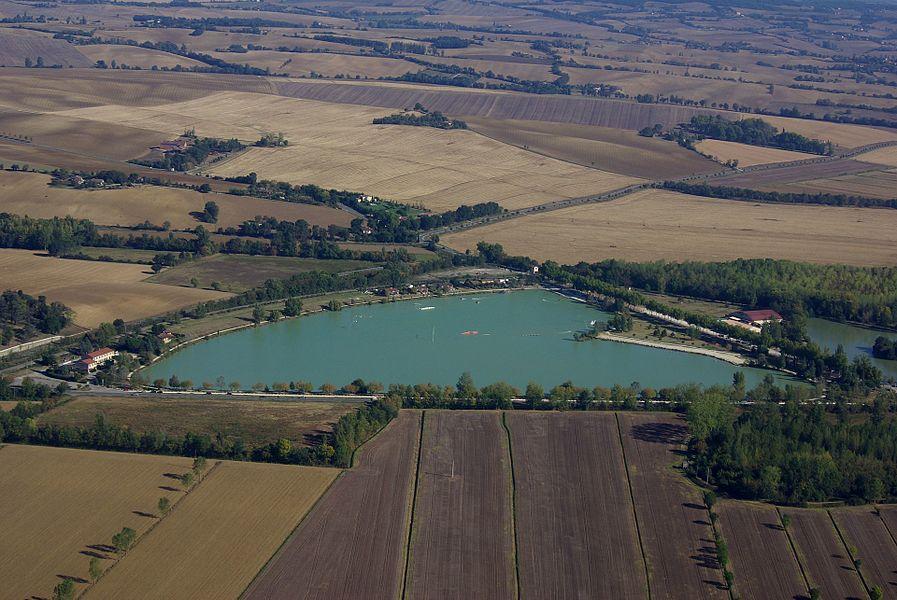 Lac de L'Isle-Jourdain.