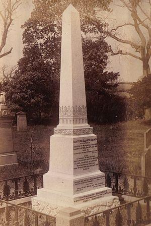 Loudoun Kirk - Memorial to Lady Flora Hastings, her niece and mother in Loudoun Kirk.