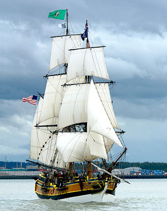 Brig - The brig Lady Washington