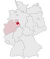 Lage des Kreises Lippe in Deutschland.PNG