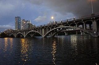 Lamar Boulevard Bridge Historic bridge in Austin, Texas