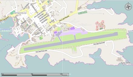 Aeroporti In Sicilia Cartina.Aeroporto Di Lampedusa Wikiwand