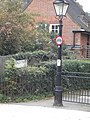 Lamppost and street sign, Kidderpore Avenue NW3 - geograph.org.uk - 2082588.jpg