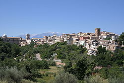 Historical centre of Lanciano.