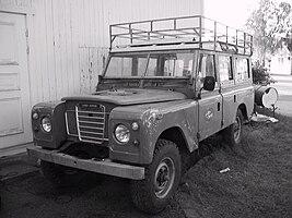 Land rover discovery varebil