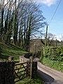 Lane to Kerswell Springs - geograph.org.uk - 756432.jpg