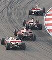 Lap 1 - Shanghai F1 GP 2008 (4204015863).jpg