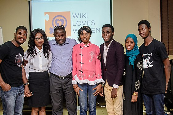 Launching of Wiki Loves Womenat Goethe Institute, Lagos ,Nigeria 21.jpg