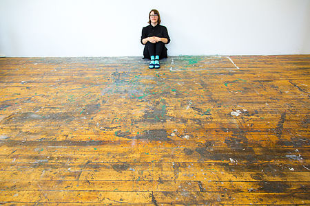 Laurel Ptak at work.jpg