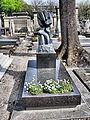 Laurent Simonpaoli's Grave In Montparnasse Cemetery, Paris April 2014.jpg