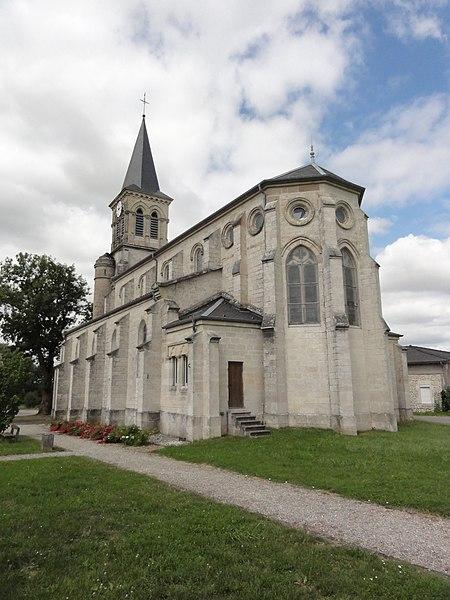 Lavallée (Meuse) église