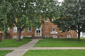 National Register of Historic Places listings in Plymouth County, Iowa - Image: Le Mars IA Le Mars Central High School