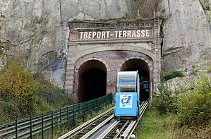 Funicular - Funicular of Le Tréport, France