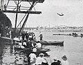 Le plongeoir du bassin d'Asnières, lors des compétitions de natation des Jeux Olympiques de 1900 (épreuve non reconnue).jpg