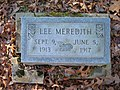 Lee Meredith Grave in Good Spring Baptist Church Cemetery, Mammoth Cave National Park (B55CD596CDA64307BD88D70D126E8811).jpg