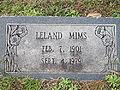 Leland Mims grave IMG 2298.JPG