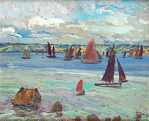Regatta in Tréboul