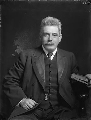 Christchurch North by-election, 1911 - Image: Leonard Monk Isitt, 1911